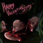 <3 ambiguous_gender black_eyes blood cannibalism dead death disembowelment eating entrails gore grotesque_death holidays luvdisc nightmare_fuel nintendo pokemonfromhell pokémon smile soul_devouring_eyes valentine's_day video_games vore   Rating: Questionable  Score: 0  User: VillainousVulpix  Date: July 01, 2013