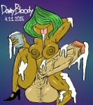 2016 armpits balls big_balls big_breasts breasts clothing cum date dickgirl dovey_bloody_(artist) erection fan_character female full-length_portrait gradient_background green_hair hair huge_balls huge_penis humanoid_penis hyper intersex legwear monster not_furry penis portrait precum signature simple_background socks solo text tongue tongue_out vein veiny_penis wide_hips  Rating: Explicit Score: 2 User: ODB-SXX Date: April 22, 2016