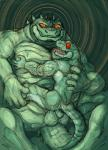 4_fingers 5_fingers anal anthro balls biceps crocodile crocodilian drooling duo flaccid green_body green_scales grin hypnosis kas20241013 kemono male male/male mind_control orange_eyes orange_sclera pecs penis red_eyes red_sclera reptile saliva scales scalie sharp_teeth sit_on_penis size_difference smile spiral_eyes teeth tongue tongue_out wet yellow_iris カスRating: ExplicitScore: 12User: smat_dragonDate: March 23, 2017