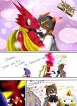 anthro clothing comic dialogue digimon english_text text  Rating: Questionable Score: 0 User: kunga Date: May 17, 2015""