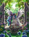 avian disney equine fairy female feral flower forest friendship_is_magic garland grass horn horse male my_little_pony pony princess princess_celestia_(mlp) royalty stupjam tinkerbell tree water winged_unicorn wings   Rating: Safe  Score: 14  User: Kein  Date: April 16, 2013