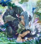 blue_eyes blue_hair clothing eria_the_water_charmer female flower gagagigo hair hi_res human konami lizard long_hair looking_at_viewer male mammal melee_weapon muscular plant reptile scalie skirt staff tongue tongue_out tree unknown_artist water waterfall weapon yellow_eyes yu-gi-oh  Rating: Questionable Score: 12 User: wekiki Date: November 21, 2015