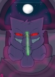balls cum ectoplasm gengar male nintendo penis pfh pokémon purple_skin red_eyes solo vein video_games  Rating: Explicit Score: 4 User: MickNasty Date: June 29, 2015