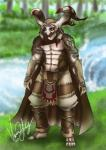 anthro armguards armor brown_hair cape clothing final_fantasy final_fantasy_xii garif grass hair hi_res male mask muscular solo square_enix tagme toes tree tribal_clothing vesenia video_games waterRating: SafeScore: 1User: Hobgoblin2099Date: May 27, 2017
