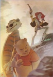 2011 amazing anthro bear calvin_and_hobbes cigar claws clothing corankizerstone cowboy crossover disney feline group gun hat hobbes human humor male mammal pooh_bear ranged_weapon smoke tiger toy_story weapon winnie_the_pooh_(franchise) woody  Rating: Safe Score: 31 User: Moonlit_Wolf Date: October 06, 2013""