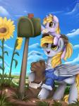 """2015 bag cute daughter derpy_hooves_(mlp) dinky_hooves_(mlp) duo equine female feral flower friendship_is_magic grass horn mail mammal mother mother_and_daughter my_little_pony parent pegasus plant pridark unicorn wings  Rating: Safe Score: 14 User: Robinebra Date: June 03, 2015"""""""