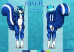 2015 animal_genitalia anthro balls blue_fur blue_hair cyan_hair eliana-asato front_view fur girly green_eyes hair long_hair looking_at_viewer male mammal model_sheet multicolored_fur multicolored_hair nude pink_nose river river_(character) sheath shy simple_background skunk slightly_chubby solo striped_tail white_fur  Rating: Explicit Score: 4 User: Lulana Date: February 03, 2016
