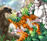 anal balls butt canine colored feline fellatio group group_sex league_of_legends male male/male mammal mayar minion nude oral orgasm penis precum sex spitroast tiger video_games wolf  Rating: Explicit Score: 16 User: drafan5 Date: September 22, 2015