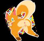 actionbastardvirginblstr all_fours alpha_channel anthro anus blush canine female fox foxy gaping gaping_anus looking_at_viewer looking_back mammal mascot nude paws pussy solo tongue tongue_out   Rating: Explicit  Score: 16  User: beartraps  Date: November 07, 2014