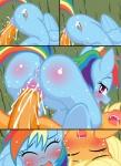 applejack_(mlp) friendship_is_magic my_little_pony rainbow_dash_(mlp) zat   Rating: Explicit  Score: 4  User: ellegarden  Date: April 26, 2015