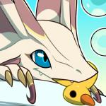2017 ambiguous_gender blitzdrachin blue_eyes bubble capcom claws cute dragon feral headshot_portrait icon leviathan low_res mizutsune monster_hunter portrait rubber_duck solo video_games