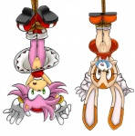 amy_rose anthro bdsm bondage bound cream_the_rabbit cub duo female fur hedgehog hi_res lagomorph mammal nude pink_fur pussy rabbit rope sonic_(series) unknown_artist upside_down young  Rating: Explicit Score: 15 User: whowho Date: October 16, 2011