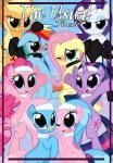 aloe_(mlp) applejack_(mlp) blush collar comic equine female feral fluttershy_(mlp) friendship_is_magic group horn horse leash lotus_(mlp) mammal my_little_pony pegasus pinkie_pie_(mlp) pony pyruvate rainbow_dash_(mlp) rarity_(mlp) tongue twilight_sparkle_(mlp) unicorn wings   Rating: Questionable  Score: 6  User: Furry_Retribution  Date: December 31, 2013