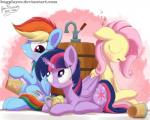 2016 abstract_background barrel beverage blue_feathers blue_fur blush bugplayer chalk cutie_mark drunk equine eye_contact eyes_closed feathered_wings feathers female feral fluttershy_(mlp) food friendship_is_magic fur group hair hi_res horn inner_ear_fluff looking_back mammal multicolored_hair my_little_pony pegasus purple_eyes purple_feathers purple_fur rainbow_dash_(mlp) sleeping smile twilight_sparkle_(mlp) winged_unicorn wings yellow_feathers yellow_fur  Rating: Safe Score: 3 User: ConsciousDonkey Date: May 01, 2016