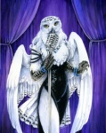 anthro avian bird female heather_bruton owl snowy_owl solo  Rating: Safe Score: 15 User: Tauxiera Date: July 25, 2012