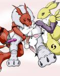 all_fours anal anthro balls bandai butt digimon dildo female foursome gatomon group group_sex guilmon licking male male/female oral paws penetration penis plain_background pussy raised_tail renamon rimming scalie sex sex_toy strapon syrinoth tail_sex tongue tongue_out   Rating: Explicit  Score: 5  User: Jaser  Date: December 14, 2014