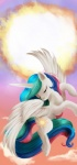 alinatf cutie_mark equine female feral friendship_is_magic hair horn mammal multicolored_hair my_little_pony princess_celestia_(mlp) solo winged_unicorn wings   Rating: Safe  Score: 6  User: slyroon  Date: May 18, 2015