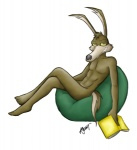 abs anthro book canine coyote loonatics_unleashed looney_tunes male mammal muscles nude pecs sitting smile solo tech_e_coyote unknown_artist warner_brothers   Rating: Questionable  Score: 5  User: Ralph-E-Coyote  Date: October 29, 2012