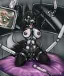alice_(aatar) anal anal_penetration bdsm big_breasts border_collie bound breasts buttplug canine cum dog ear_piercing gag green_eyes harness herm internal intersex mammal penetration penis piercing ring_gag s-nina sex_toy vaginal vaginal_penetration   Rating: Explicit  Score: 8  User: Arkham_Horror  Date: March 26, 2015