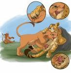 absurd_res being_watched breathing cub disney domination duo_focus feline female female_domination feral foot_fetish footjob group hi_res humiliation laugh leopard lion male mammal meowz mocking nala nothing41 pouncing predator presenting simba teasing the_lion_king wrestling young   Rating: Explicit  Score: 24  User: Xenith  Date: October 23, 2014