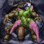 animal_genitalia anthro areola balls big_breasts big_nipples breasts butt clothed clothing cum duo ear_piercing erect_nipples facial_piercing female flaccid fur green_skin hair half-dressed hooves horn huge_breasts humanoid legwear lipstick makeup male mammal minotaur multicolored_hair muscles navel navel_piercing nipple_piercing nipples nose_piercing nose_ring nude orc penis piercing pointy_ears precum pubes pussy pussy_floss raised_arm rampage0118 spreading teeth thick_thighs vem video_games voluptuous warcraft wide_hips world_of_warcraft   Rating: Explicit  Score: 6  User: Pasiphaë  Date: May 04, 2015