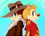 2015 anthro chip chip_'n_dale_rescue_rangers chipmunk dale disney duo male mammal rodent sssonic2  Rating: Safe Score: 8 User: Robinebra Date: September 11, 2015