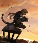 2015 ambiguous_gender anthro assassin's_creed cat clothed clothing cub feline france hax_(artist) kenket lofi mammal outside paris solo video_games young  Rating: Safe Score: 22 User: Somepony Date: September 22, 2015