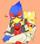 avian bird canine cute falco_lombardi fox fox_mccloud kemo_nuko male male/male mammal nintendo star_fox video_games  Rating: Safe Score: 1 User: Flammie Date: July 30, 2015