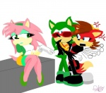 amy_rose angry artsicat bigger_version_at_the_source canine couple distracted female fiona_fox fox hedgehog humor male mammal rosy_the_rascal scourge_the_hedgehog seductive sega sonic_(series)   Rating: Safe  Score: -1  User: Sods  Date: December 18, 2012
