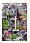 anthro bandanna big_penis comic cum cumshot dragon duo female green_skin internal interspecies jelomaus male muscles orgasm penetration penis pussy pussy_juice rabies_t_lagomorph screaming size_difference troll uterus vaginal vaginal_penetration  Rating: Explicit Score: 1 User: Acolyte Date: July 09, 2015