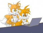 2015 anthro canine duo fox male mammal miles_prower sonic_(series) unknown_artist  Rating: Safe Score: 3 User: Robinebra Date: November 18, 2015