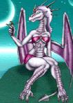 2003 ambiguous_gender animated anthro blue_eyes bra breasts claws clothed clothing crown dragon duo female hair horn human low_res mammal markie open_mouth outside purple_hair purple_scales scalie sitting size_difference skirt sky solo_focus star toe_claws underwear vore white_hair white_scales wings   Rating: Questionable  Score: -4  User: GameManiac  Date: April 07, 2015