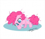 2011 blue_eyes candy cute earth_pony eating equine female feral food friendship_is_magic fur hair horse jawbreaker lying mammal my_little_pony on_side pink_fur pink_hair pinkie_pie_(mlp) pony signature simple_background solo white_background zicygomar  Rating: Safe Score: 2 User: Robinebra Date: March 13, 2012