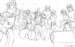 "anthro associated_student_bodies canine cervine chris_mckinley cletis_""tiny""_morton daniel_king david_mears deer dorm feline female group hyena joel_the_lemur lemur lion male mammal marcus_paxten plain_background primate raccoon richard_sebastian school skunk tiger tina_devereaux vincent_donneman white_background wolf   Rating: Safe  Score: 0  User: JoelGrigori  Date: July 23, 2011"