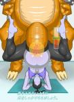 abdominal_bulge abs anthro bowser cat3 cum duo female first_person_view human insertion japanese_text large_insertion male mammal mario_bros nintendo nipples penetration penis reptile scalie text translation_request turtle upside_down video_games wii_fit_trainer   Rating: Explicit  Score: 5  User: Ko-san  Date: October 06, 2014