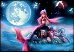 female fish full_moon marine mermaid moon mythology night outside sea sky star starry_sky water   Rating: Questionable  Score: 4  User: NekoBot  Date: December 21, 2014