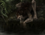 ambiguous_gender anthro black_nose blackpassion777 canine claws detailed_background feral forest fur grey_fur hi_res jungle lupus mammal nature outside reptile scalie snake toe_claws tree water were werewolf wolf wood  Rating: Safe Score: 23 User: Munkelzahn Date: July 21, 2013