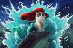 disney frown humor mermaid rock tardar_sauce tsaoshin water   Rating: Safe  Score: 5  User: NaughtyPenguin  Date: March 03, 2014