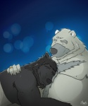 aennor(character) bear beard belly canine chubby couple cuddling cute facial_hair homo male male/male mammal nickdales nickdales(character) nicknameart nipples overweight smile wolf  Rating: Questionable Score: 4 User: NickB.Dales Date: June 24, 2015""