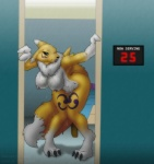 big_breasts blue_eyes breasts canine digimon female fox hanging_breasts humbird0 nipples nude renamon tongue yawg yiffmasters   Rating: Explicit  Score: 40  User: xXK1T5UN3Xx  Date: March 18, 2012