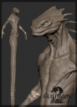 3d anthro biceps cgi claws fangs grey_background guild_wars guild_wars_2 horn james_vandenbog krait model model_sheet naga nude official_art plain_background reptile scalie sharp_teeth solo teeth video_games   Rating: Safe  Score: 0  User: e17en  Date: February 23, 2015