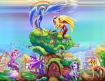 2015 absurd_res apple applejack_(mlp) avian beach_ball bird blonde_hair blue_eyes blue_fur book clothing cloud confetti cowboy_hat cutie_mark door earth_pony edit english_text equine female feral fluttershy_(mlp) flying freckles friendship_is_magic fruit fur green_eyes group hair hat hi_res hooves horn horse long_hair mammal mud multicolored_hair my_little_pony open_mouth orange_fur outside pegasus pink_fur pink_hair pinkie_pie_(mlp) pony purple_eyes purple_fur purple_hair rainbow rainbow_dash_(mlp) rainbow_hair raining rarity_(mlp) smile text twilight_sparkle_(mlp) unicorn viwrastupr white_fur winged_unicorn wings yellow_fur   Rating: Safe  Score: 7  User: lemongrab  Date: May 14, 2015