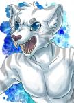2014 anthro blue_eyes cometthemicroraptor fangs feline male mammal nude open_mouth solo tau_maxim teeth tiger tongue white_tiger   Rating: Safe  Score: 1  User: TauMaxim  Date: October 12, 2014
