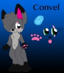 blue_background convel fur gradient_background green_eyes grey_fur male model_sheet naturally_censored navel paws plain_background scar solo tongue tongue_out xxbaybayxx   Rating: Safe  Score: 0  User: Convel_Wolfie  Date: December 08, 2013