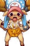 anthro antlers blush bulge cervine clothed clothing dagasi digital_media_(artwork) disembodied_hand hat horn male mammal one_piece pants reindeer shaking shirt tongue tongue_out tony_tony_chopper trembling   Rating: Explicit  Score: 1  User: Wii_Fit_Stripper  Date: September 30, 2014