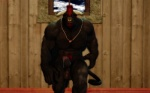 3d abs balls biceps big_muscles big_penis black_fur bovine cattle cgi darkviper199027 erection facial_hair facial_piercing fur goatee hair horn kaiger leaking male mammal muscles necklace nose_piercing nose_ring pecs penis piercing precum red_eyes red_hair solo standing uncut   Rating: Explicit  Score: 11  User: unforget  Date: February 10, 2013