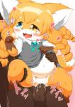 2014 <3 anthro balls big_ears blush brown_fur canine censored chubby clothed clothed_sex clothing cub cum cum_inside cum_on_penis cute drooling duo erection fangs female fox fur hair hand_on_belly hand_on_thigh heterochromia japanese_text kemono loli male male/female mammal navel orange_fur orange_hair overweight penetration penis plain_background raised_arm rajio saliva sex solo_focus sweat teeth text tongue tongue_out translated vaginal vaginal_penetration young   Rating: Explicit  Score: 2  User: Sneaky  Date: December 27, 2014