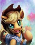 2015 applejack_(mlp) blonde_hair clothing cowboy_hat cutie_mark earth_pony equine eyelashes female feral freckles friendship_is_magic fur green_eyes hair hat horse indianapolis_colts long_hair mammal my_little_pony nfl open_mouth orange_fur pony smile solo teeth tongue tsitra360  Rating: Safe Score: 10 User: lemongrab Date: February 10, 2015