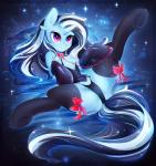 2018 <3 <3_eyes black_hair blue_background bow butt chest_tuft clothed clothing collar corset cute cutie_mark equine eyelashes fan_character female feral fur grin hair hi_res hooves horn koveliana leash legwear lingerie long_hair lying mammal multicolored_hair my_little_pony on_back panties purple_eyes simple_background smile solo sparkles spread_legs spreading stockings teeth thigh_highs tuft two_tone_hair underwear unicorn white_hairRating: QuestionableScore: 8User: GlimGlamDate: July 19, 2018