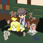 animal_crossing anthro bent_over blonde_hair canine desk dog duo female from_behind fur hair hat human isabelle_(animal_crossing) male male/female mammal nintendo orgasm sex unknown_artist video_games yellow_fur  Rating: Explicit Score: 1 User: Cαnε751 Date: November 05, 2015